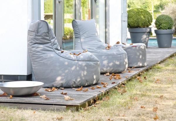 outbag outdoor sitzsack slope 85 x 90 cm wetterfest loungem bel garten sessel ebay. Black Bedroom Furniture Sets. Home Design Ideas