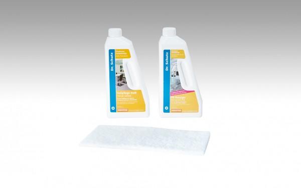 Pflegeset für Designböden und Linoleumböden D / F