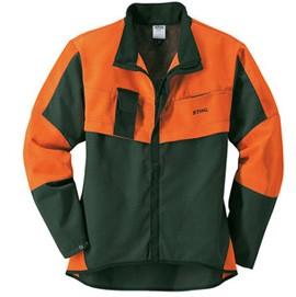 Jacke, ECONOMY PLUS grün/orange - L