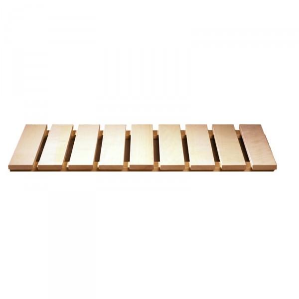 Sauna Bodenrost Fichte oder Espe 46,5 x 100 cm