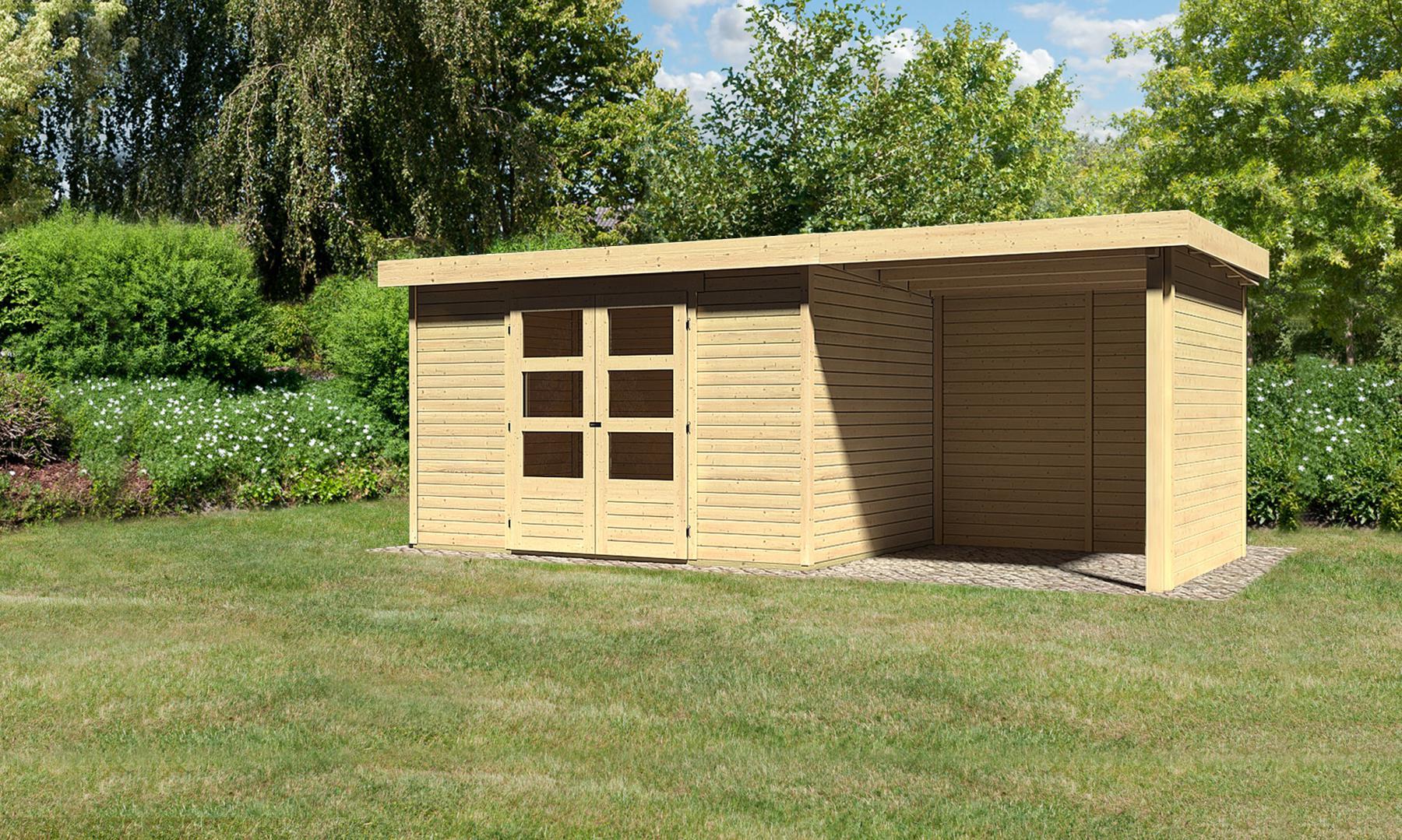 beste gartenhaus mit terrasse aus polen schema garten design ideen. Black Bedroom Furniture Sets. Home Design Ideas