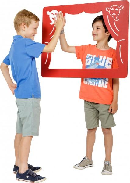 Spielwand THEATRE Rot 73,5 x 58,5 cm