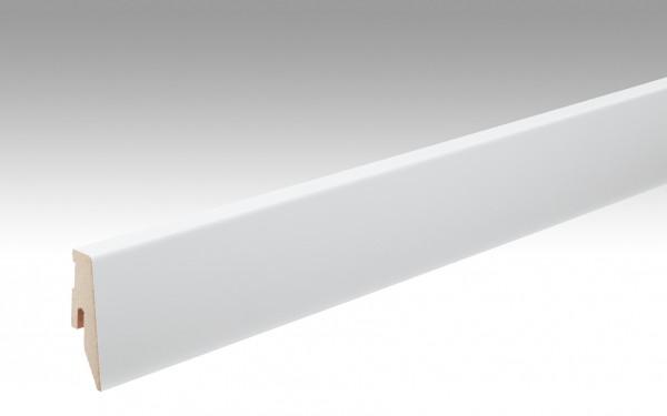 Fußleiste Profil 3 PK für alle Böden Uni weiß glänzend DF 324