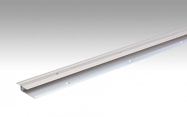 Übergangsprofil Typ 202 (6,5 bis 16 mm) Edelstahl-Oberfläche 340