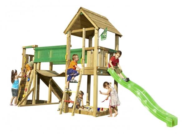 Tills CLUB - Spielturm Set mit Hängebrücke