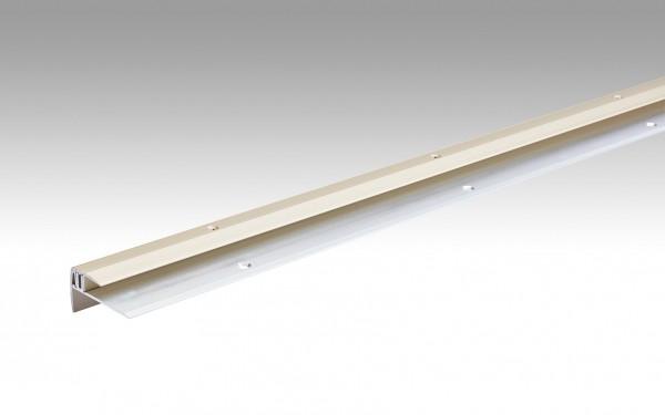Treppenkantenprofil Typ 203 (7 bis 16 mm) Sand eloxiert 230