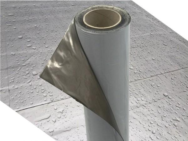 Dachfolie KSK Aluminium selbstklebend grau 5 m² für Flachdachhäuser