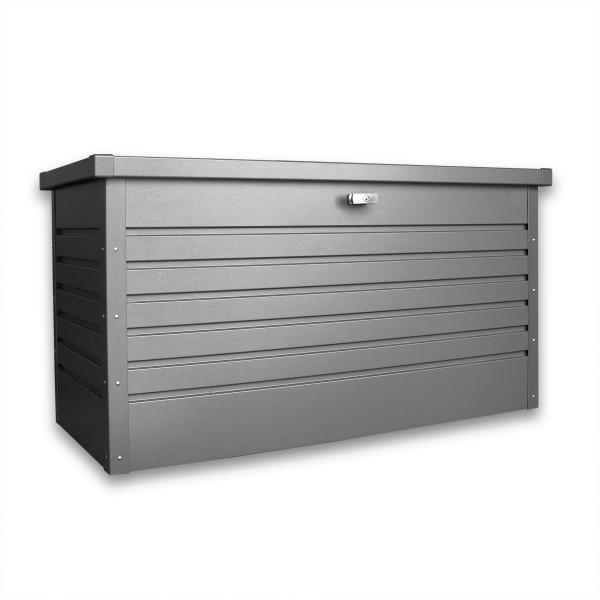 Auflagenbox SYLT 134 x 62 x 71 cm Metall abschließbar